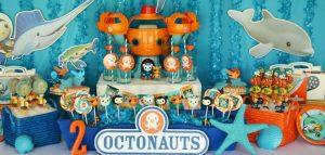 Decoracion de octonautas para fiestas