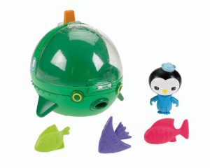 Octonautas GUP E Set de barco y peces de juguete