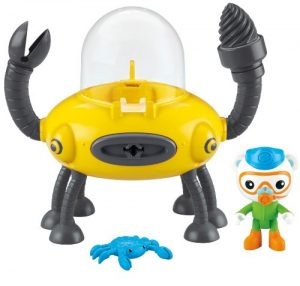 Octonautas GUPD Percebes y cangrejo azul Mattel