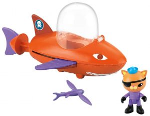 Octonautas Vehículo en modo pez volador