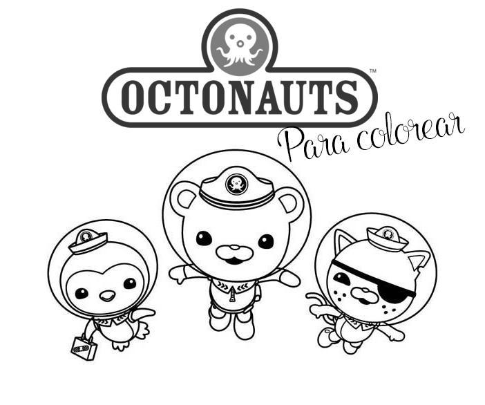 Dibujos Para Colorear Octonautas Imágenes De Los Octonautas