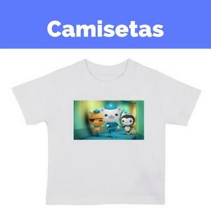 camisetas octonautas