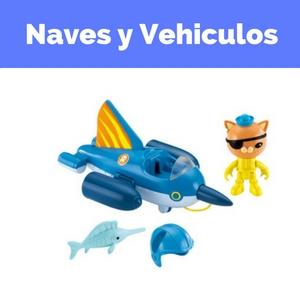 vehiculos octonautas