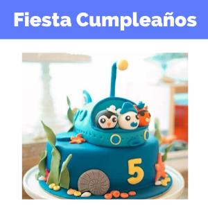 fiesta cumpleaños octonautas